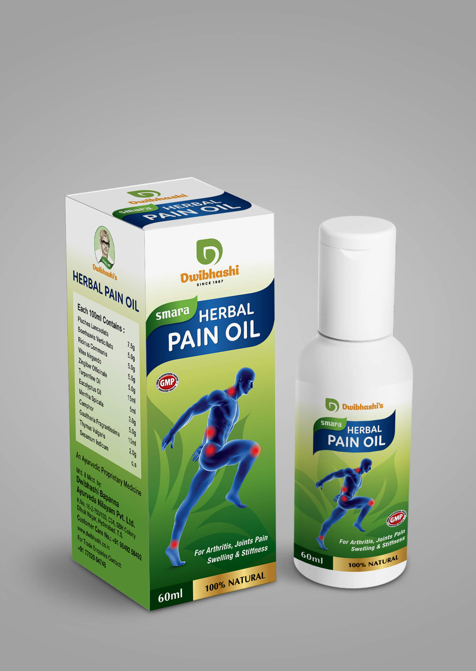 Buy Herbal Pain Oil Online